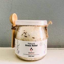 Sisterworks Natural Bath Salts - Stress Relief 500g