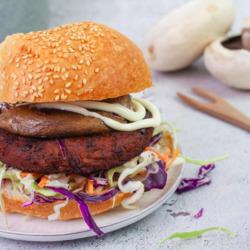 Bite Me Fine Foods Organic Vegan Lentil Burger (2 per pack) 250g
