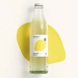 StrangeLove Lo-Cal Soda Lemon Squash 4x300ml