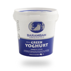 Barambah Greek Yoghurt Sweet 1kg