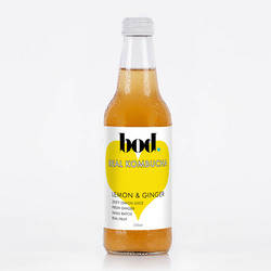 Bod Kombucha Lemon & Ginger 4x330ml