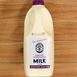 Demeter Milk Low Fat Biodynamic - 2L Great Value Buy