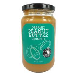 Spiral Foods Organic Peanut Butter Crunchy - 375g