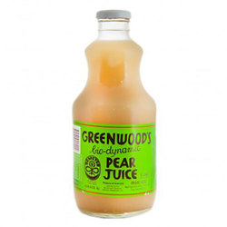 Greenwoods Pear Juice Biodynamic 6x1L VALUE BULK BUY